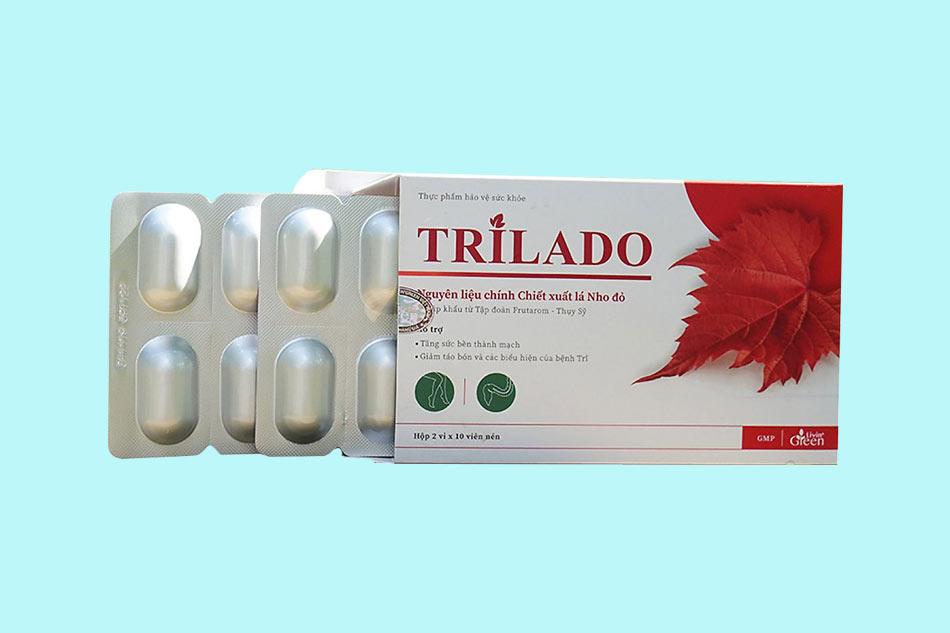 Hình ảnh vỉ Trilado