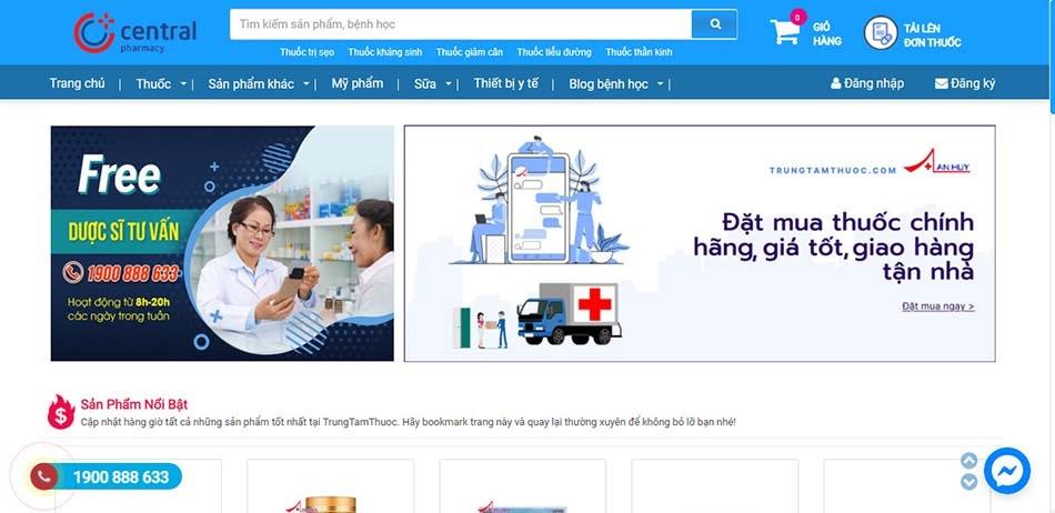 Giao diện website thân thiện với người dùng
