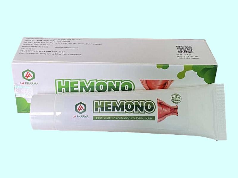 Tương tác thuốc Hemono Gel