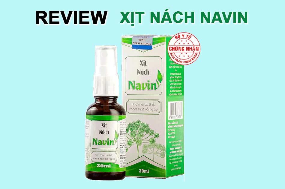 Xịt nách Navin là gì?