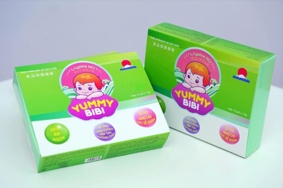 Thạch rong nho Yummy Bibi có công dụng gì?