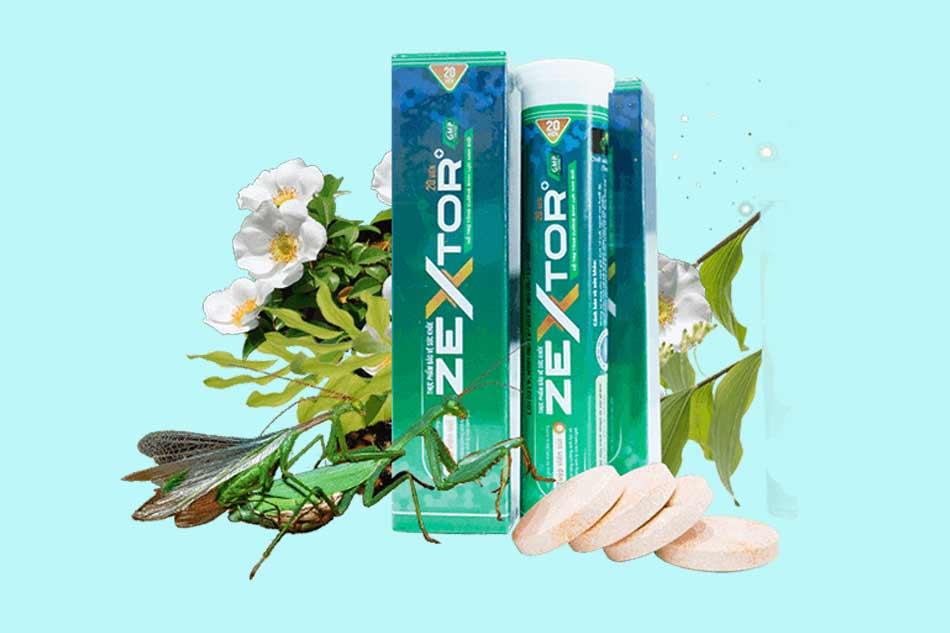 Viên sủi Zextor là gì?