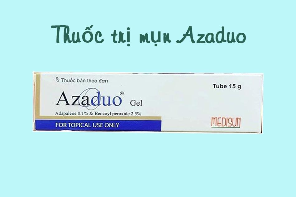 Azaduo là thuốc gì?