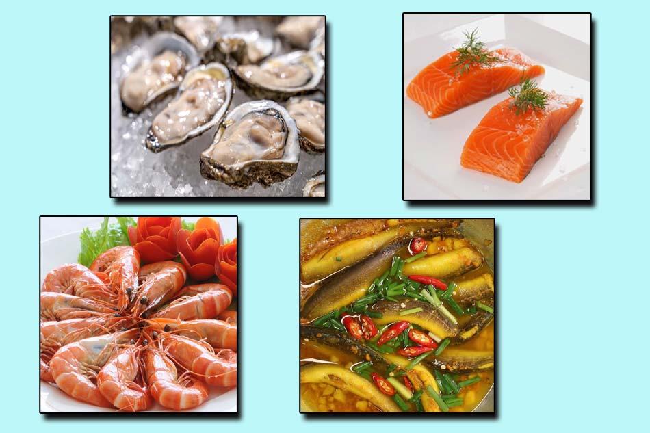 Một số hải sản giúp tăng cường sinh lý
