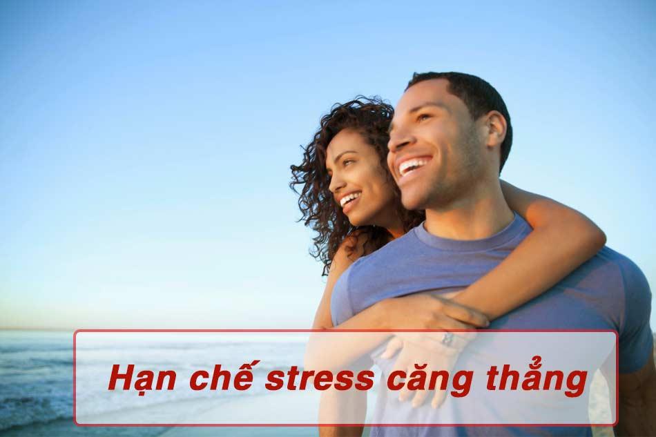 Hạn chế căng thẳng stress giúp tăng sản sinh tinh trùng