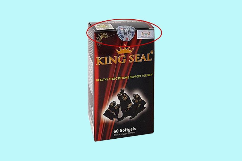 Tem chống giả của sản phẩm King Seal