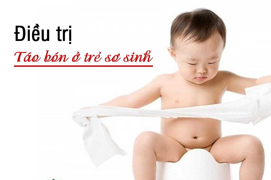 Cách điều trị táo bón ở trẻ sơ sinh