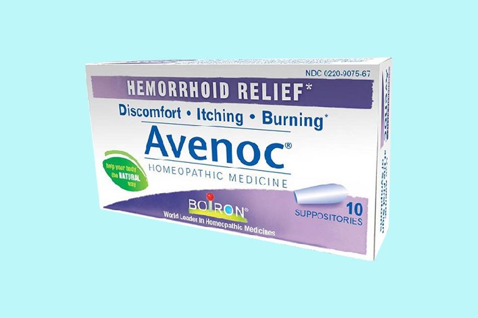 Thuốc đặt trị trĩ Avenoc