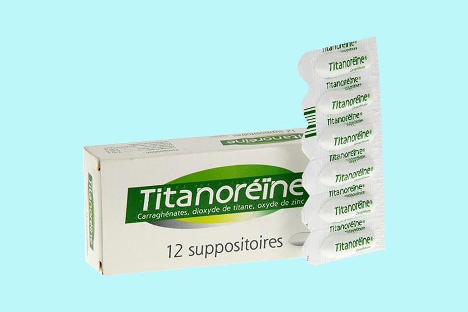 Thuốc đặt Titanoreine chữa bệnh trĩ