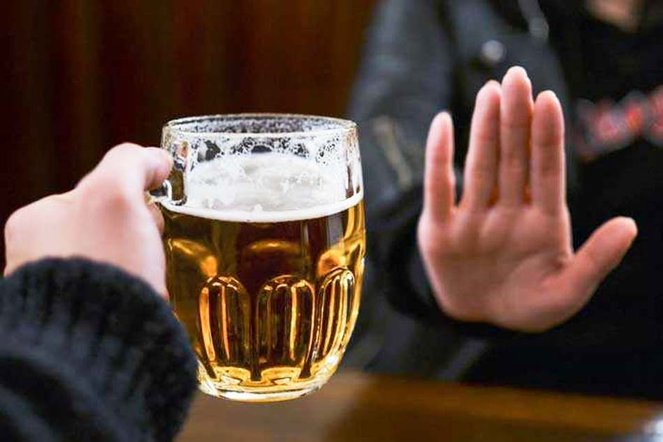 Hạn chế bia, rượu và chất kích thích