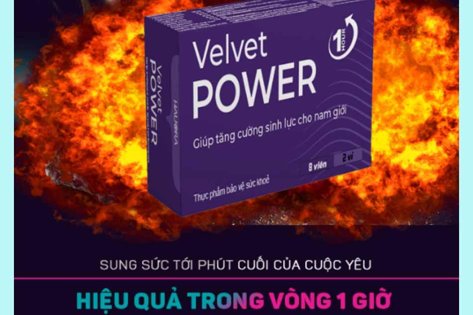 Velvet Power 1 hour có tốt không?