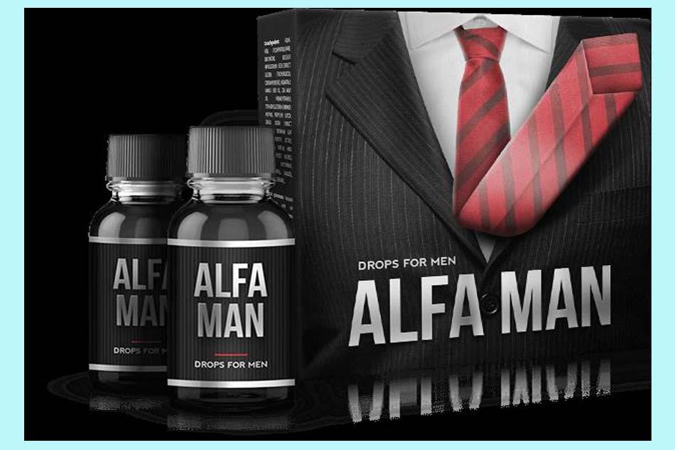 Thành phần của Alfa Man